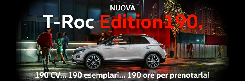 Nuova T-Rock Edition 190