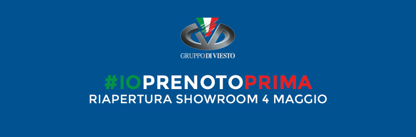 Riapertura Showroom